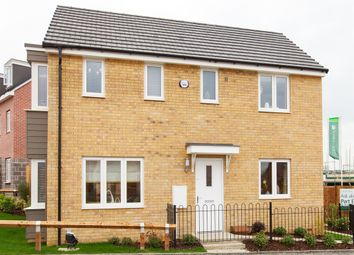 "Thumbnail 3 bed detached house for sale in ""The Clayton Corner"" at Holtwood Drive, Woodlands, Ivybridge"