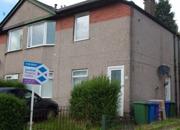 Thumbnail 3 bed flat to rent in Chirnside Road, Hillington