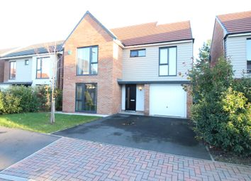 Thumbnail 4 bed detached house for sale in Meldon Close, Washington
