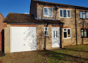Thumbnail 3 bed semi-detached house for sale in Sweetbriars, Stamford