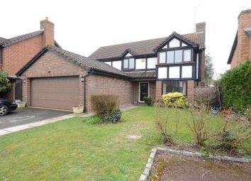 Thumbnail 4 bed detached house to rent in Woodward Close, Winnersh, Wokingham