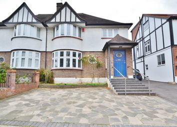 Thumbnail 4 bed semi-detached house for sale in Old Park Avenue, Enfield