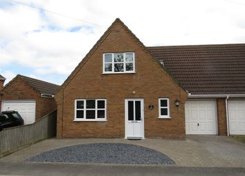 Cathedral View, Manea, March PE15. 3 bed link-detached house