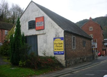 Thumbnail Commercial property for sale in Dale End Garage, Dale End, Ironbridge, Telford