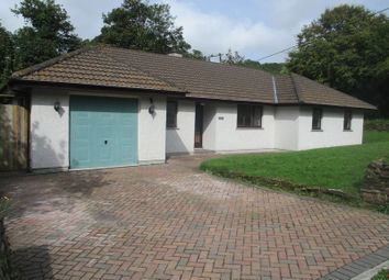 Thumbnail 3 bed detached bungalow for sale in Coombe, St. Austell