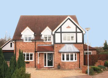 Thumbnail 4 bed detached house for sale in Abbey Rise, Barrow-Upon-Humber