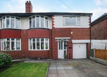 Thumbnail 3 bed semi-detached house for sale in Whitebrook Road, Manchester, Greater Manchester, Uk