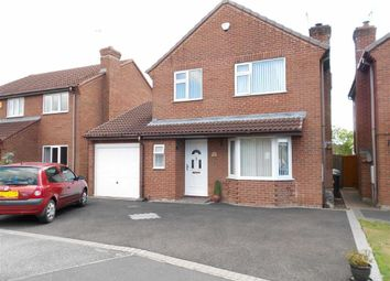 Thumbnail 3 bed detached house for sale in Kinder Drive, Woolstanwood, Crewe, Cheshire