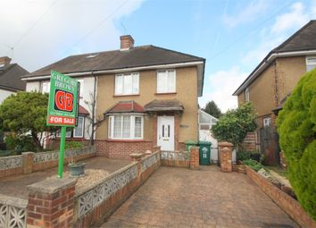 Thumbnail 2 bedroom semi-detached house for sale in Thickthorne Lane, Staines-Upon-Thames, Surrey
