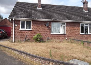 Thumbnail 2 bed semi-detached bungalow to rent in Shooters Close, Taverham, Norwich