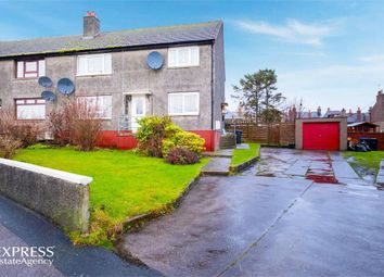 Thumbnail 2 bedroom flat for sale in Duncan Crescent, Peterhead, Aberdeenshire