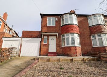 Thumbnail 3 bed semi-detached house for sale in Jedburgh Gardens, Newcastle Upon Tyne