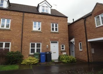 Thumbnail 4 bed town house to rent in Haslam Court, Chesterfield