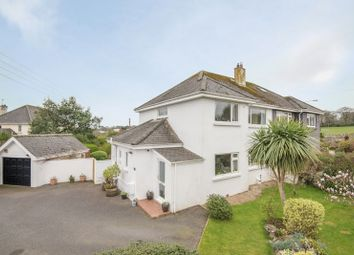 Thumbnail 3 bed semi-detached house for sale in Trescobeas Road, Falmouth