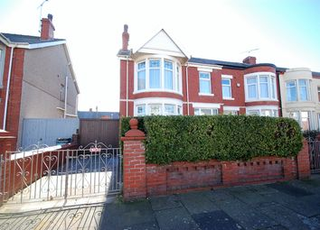 Thumbnail 4 bed end terrace house for sale in Rosebery Avenue, Blackpool, Lancashire