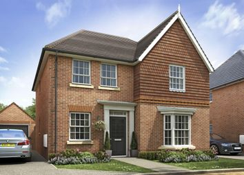 """Thumbnail 4 bedroom detached house for sale in """"Stowford"""" at Borough Avenue, Wallingford"""