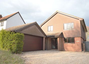 Thumbnail 4 bed detached house to rent in Main Road, Littleton, Winchester