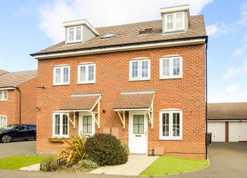 Thumbnail 4 bed semi-detached house for sale in Olympia Way, Hucknall, Nottinghamshire