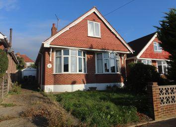 Thumbnail 3 bedroom detached bungalow for sale in Hillside Crescent, Cosham, Portsmouth