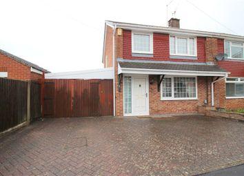 3 bed semi-detached house for sale in Nicholas Close, Spondon, Derby DE21