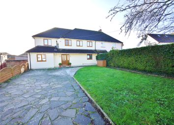 Thumbnail 4 bed semi-detached house for sale in Danes Way, Pilgrims Hatch, Brentwood, Essex