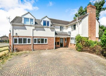 Thumbnail 5 bedroom detached house for sale in Snowdrop Close, Swindon
