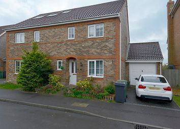 Thumbnail 3 bedroom semi-detached house for sale in Trenchmead Gardens, Basingstoke, Hampshire