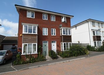 Thumbnail 4 bed terraced house to rent in Jack Sadler Way, Exeter