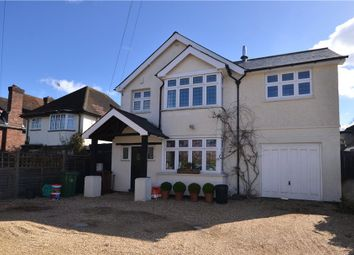 Thumbnail 4 bed detached house for sale in Park Road, Camberley, Surrey