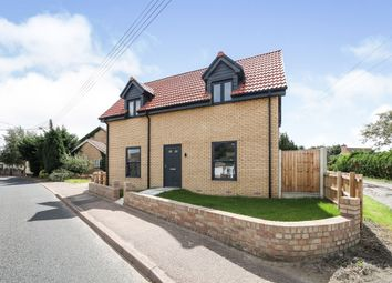 Thumbnail 3 bed detached house for sale in The Street, Holywell Row, Bury St. Edmunds