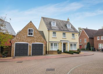 Thumbnail 5 bed detached house for sale in Otterbourne Walk, Sherfield-On-Loddon, Hook, Hampshire