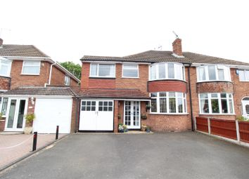 Thumbnail 4 bed semi-detached house for sale in Wombourne Park, Wombourne, Wolverhampton