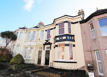 Thumbnail 3 bed terraced house to rent in Glendower Road, Peverell, Plymouth
