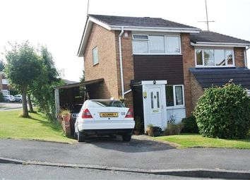Thumbnail 2 bed semi-detached house for sale in Pommel Close, Walsall