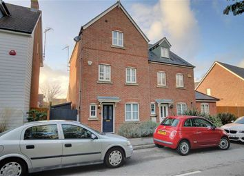 Thumbnail 3 bed semi-detached house for sale in Rowan Way, Angmering, Littlehampton, West Sussex