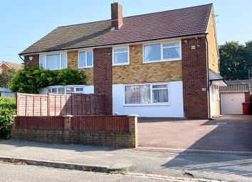 Thumbnail 4 bed semi-detached house for sale in Lea Close, Reading