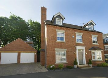 Thumbnail 5 bed detached house for sale in Flanders Close, Quorn, Loughborough