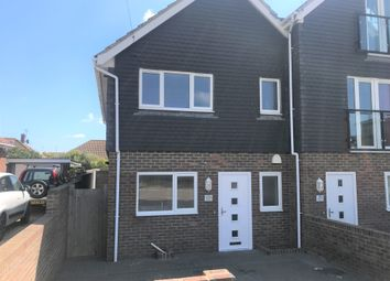 Thumbnail 3 bed end terrace house to rent in Steyning Avenue, Peacehaven