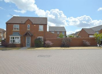 Thumbnail 3 bed detached house for sale in Francis Drive, Cawston, Warwickshire