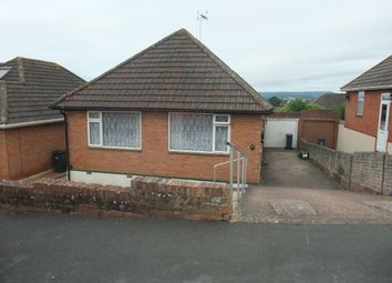Thumbnail 2 bed bungalow for sale in Willow Avenue, Exmouth