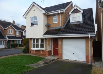 Thumbnail 3 bed detached house for sale in Dewchurch Drive, Sunnyhill, Derby