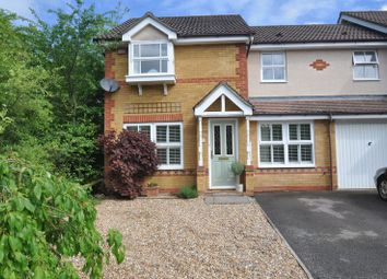 Thumbnail 3 bed semi-detached house for sale in Silvester Way, Church Crookham, Fleet