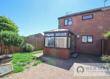 Thumbnail 2 bed semi-detached house for sale in Goose Green West, Beccles