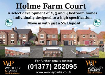 Thumbnail 3 bed detached house for sale in Holme Farm Court, Main Street, Beeford, Driffield