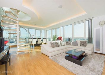 Thumbnail 3 bed flat for sale in Aquarius House, St George Wharf, Vauxhall, London