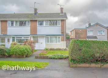 Thumbnail 3 bed terraced house for sale in The Highway, Croesyceiliog, Cwmbran