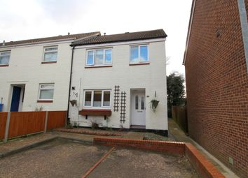 Thumbnail 3 bed end terrace house for sale in Woodruff Close, Old Catton, Norwich