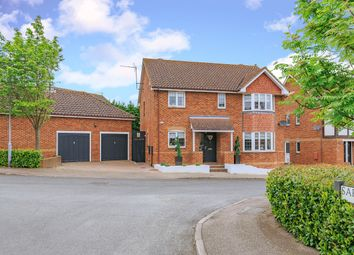 Thumbnail 4 bedroom detached house for sale in Saffron Meadow, Standon, Ware