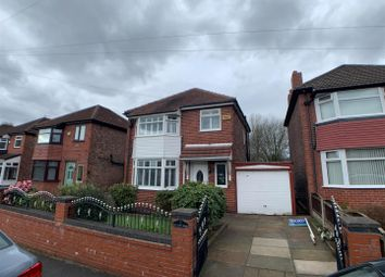Thumbnail 3 bed detached house for sale in Welwyn Drive, Salford