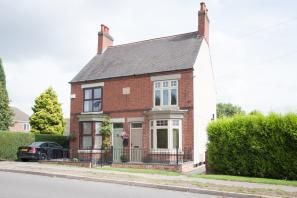 Thumbnail 2 bed semi-detached house to rent in Dosthill Road, Two Gates, Tamworth